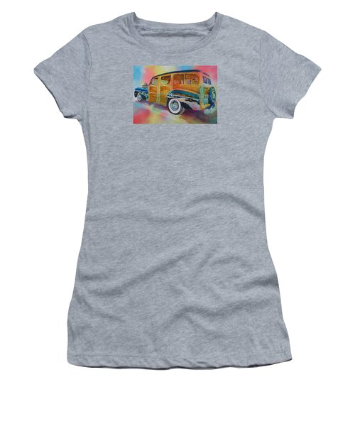 Boca Classic 42 Woody Women's T-Shirt (Athletic Fit)