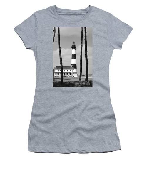 Bodie Island Lighthouse In The Outer Banks Women's T-Shirt