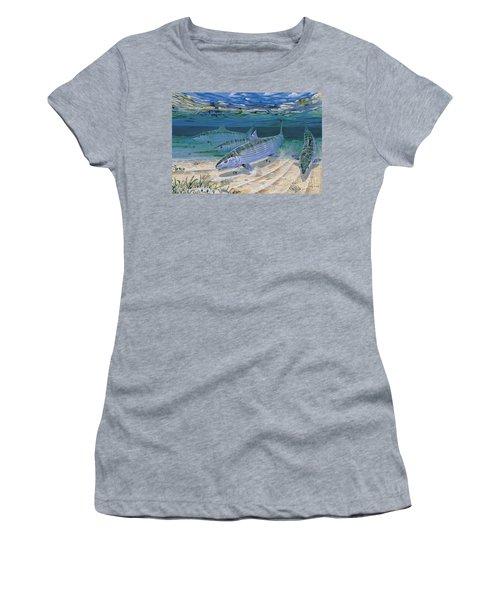 Bonefish Flats In002 Women's T-Shirt