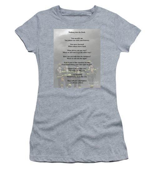 Brave Poem Women's T-Shirt (Athletic Fit)
