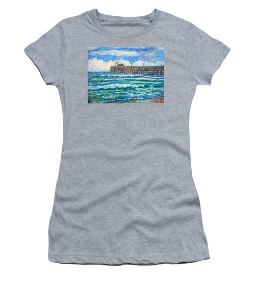 Breakers At Pawleys Island Women's T-Shirt (Athletic Fit)