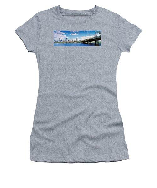 Bridge Across A Canal, Lachine Canal Women's T-Shirt