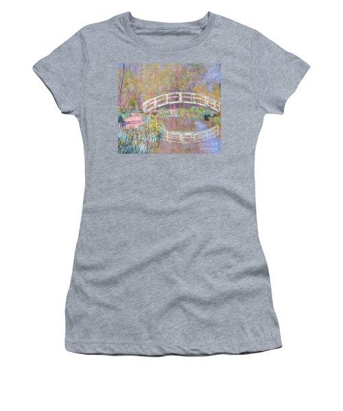 Bridge In Monet's Garden Women's T-Shirt