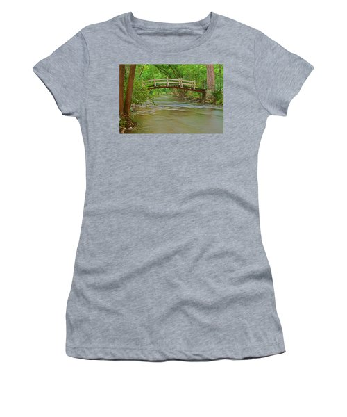 Bridge Over Valley Creek Women's T-Shirt (Athletic Fit)
