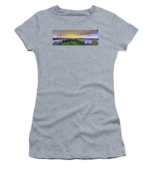 Bridges Across A River, Jacques Cartier Women's T-Shirt