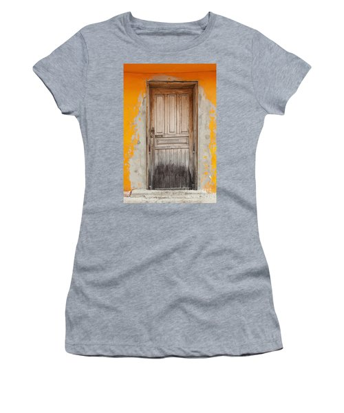 Brightly Colored Door And Wall Women's T-Shirt