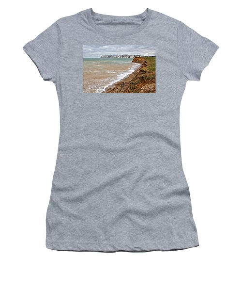 Brook Bay And Chalk Cliffs Women's T-Shirt