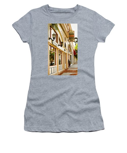 Brown Bros Building Women's T-Shirt (Athletic Fit)