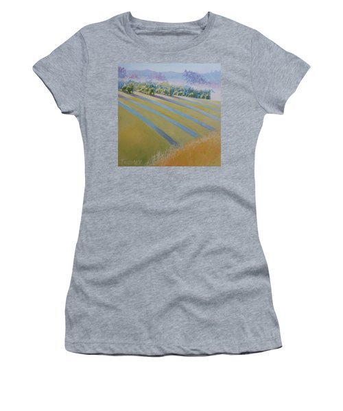 Buck Mountain Vineyards No.2 Women's T-Shirt (Junior Cut) by Catherine Twomey