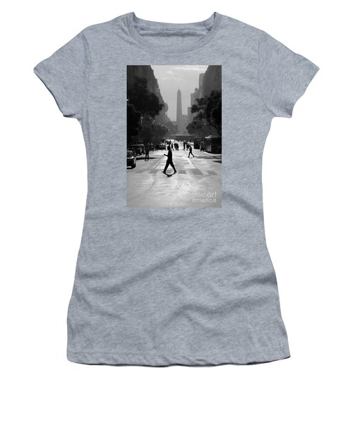 Buenos Aires Obelisk II Women's T-Shirt (Athletic Fit)