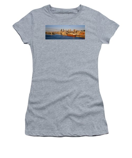 Buildings At The Waterfront, Montreal Women's T-Shirt