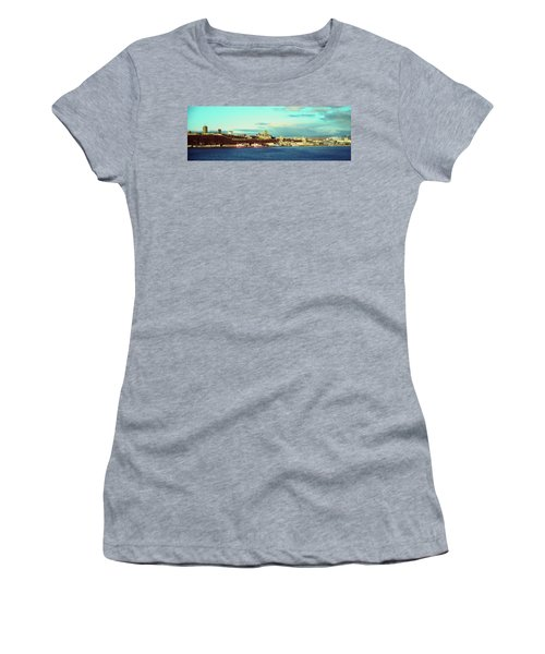 Buildings At The Waterfront, Quebec Women's T-Shirt