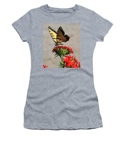 Butterfly And Maltese Cross 1 Women's T-Shirt