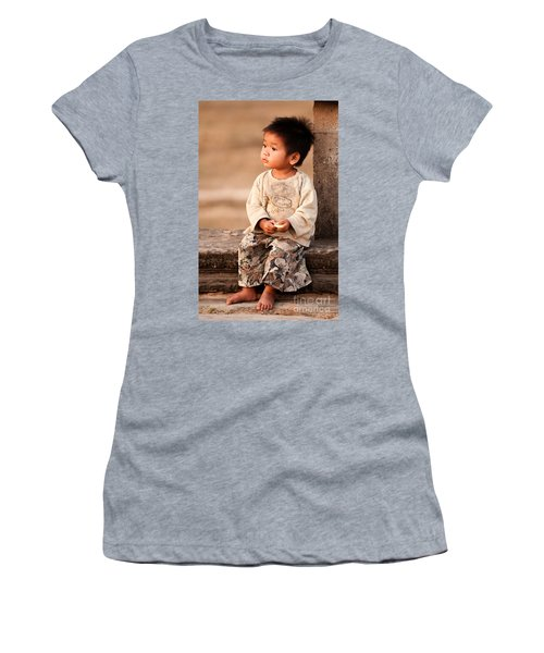 Cambodian Girl 02 Women's T-Shirt (Athletic Fit)