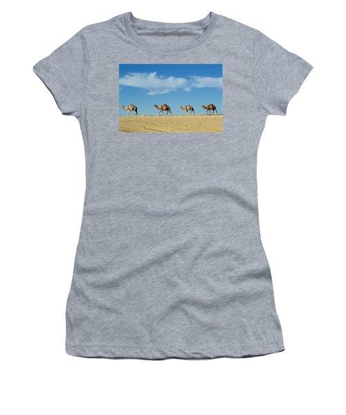 Camel Train Women's T-Shirt