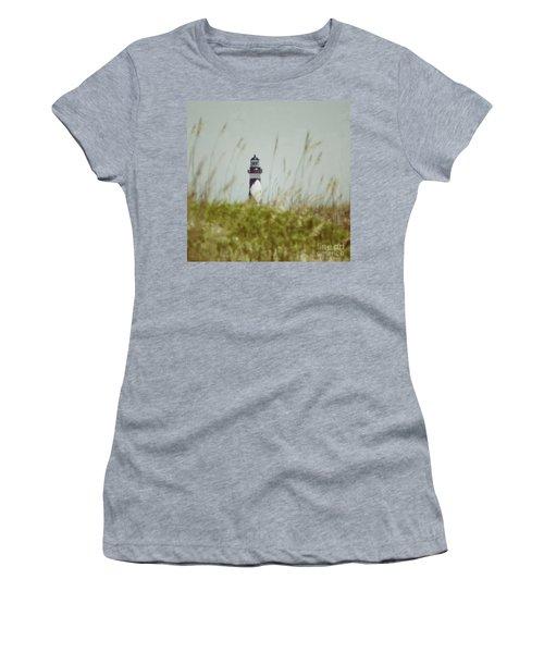 Cape Lookout Lighthouse - Vintage Women's T-Shirt