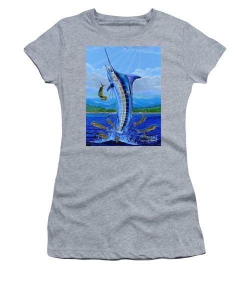 Caribbean Blue Off0041 Women's T-Shirt