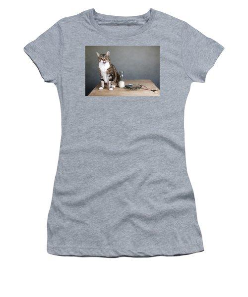 Cat And Herring Women's T-Shirt