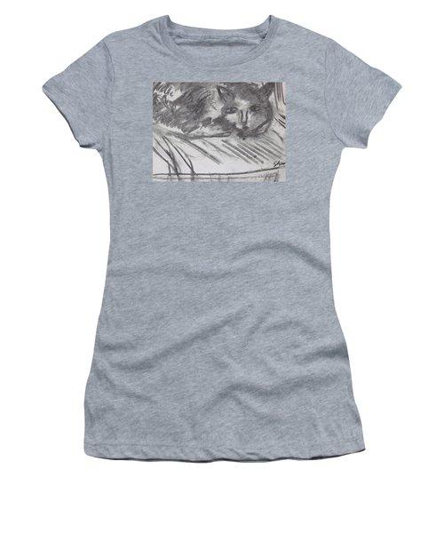 Cat Relaxing Women's T-Shirt