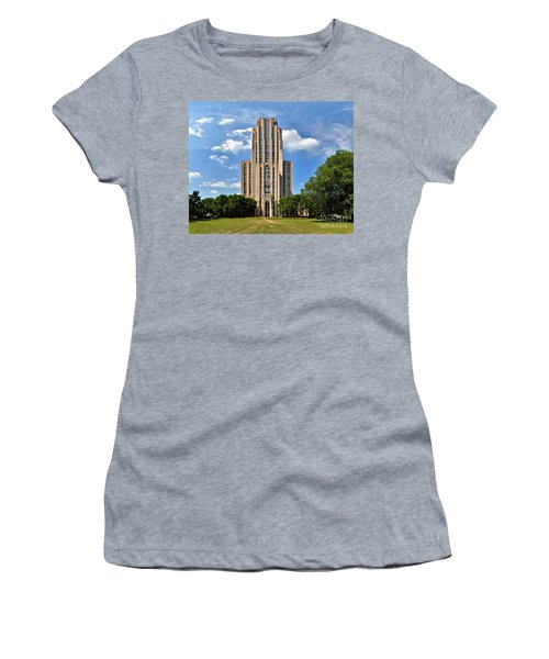 Cathedral Of Learning Pittsburgh Pa Women's T-Shirt