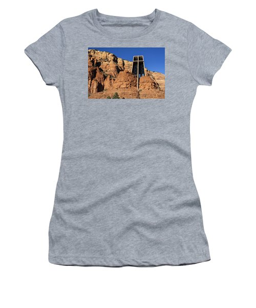 Chapel Of The Holy Cross Women's T-Shirt (Athletic Fit)