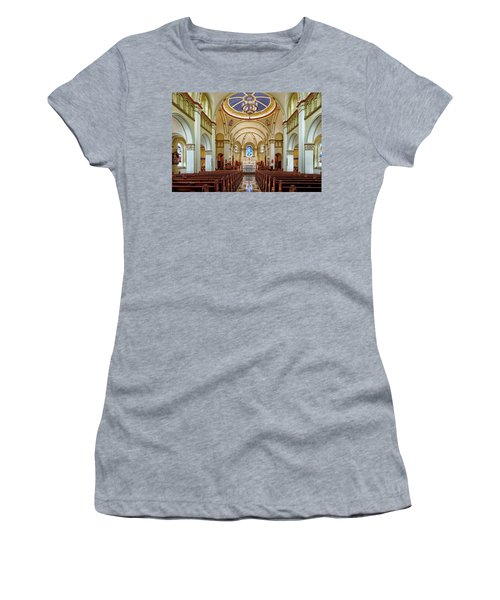 Women's T-Shirt (Junior Cut) featuring the photograph Chapel Of The Immaculate Conception by Jim Thompson