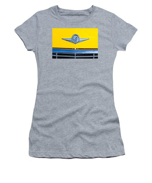 Checker Taxi Cab Emblem Women's T-Shirt