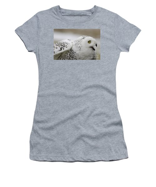 Cheeky Snow Owl Women's T-Shirt
