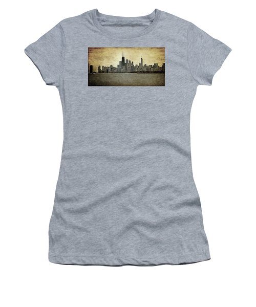 Chicago On Canvas Women's T-Shirt