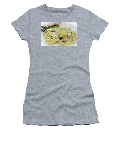 Chicken Alfredo Meal Women's T-Shirt