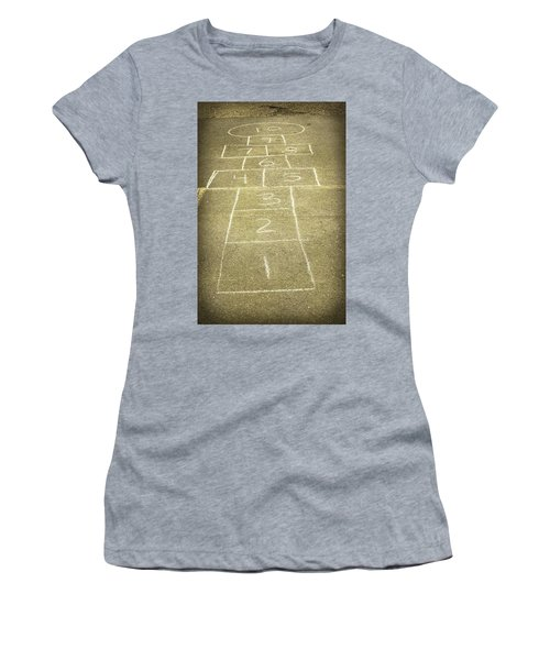 Childhood Games Women's T-Shirt (Athletic Fit)