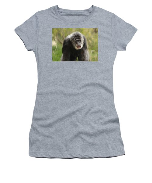 Chimpanzee Women's T-Shirt (Athletic Fit)