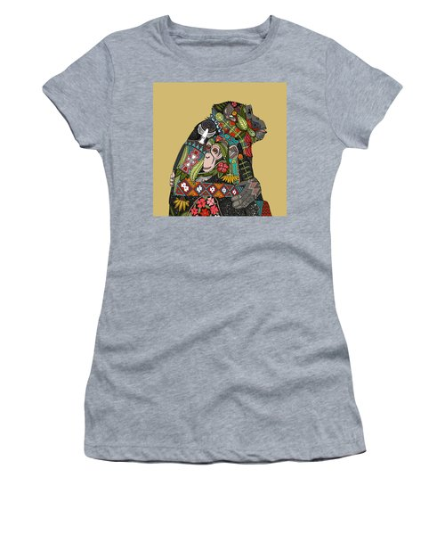 Chimpanzee Love Biscuit Women's T-Shirt