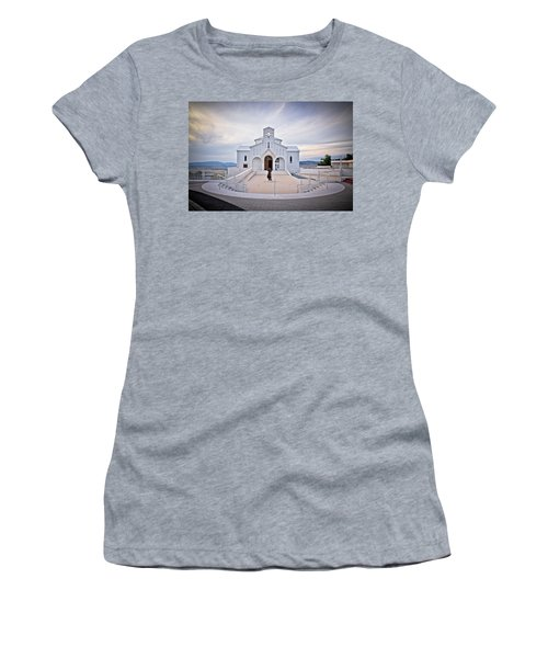 Church Of Croatian Martyrs In Udbina Women's T-Shirt (Athletic Fit)