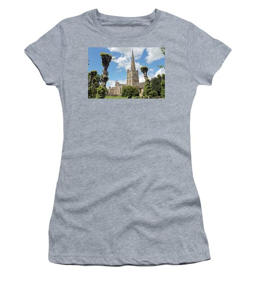Church Of St John The Baptist Women's T-Shirt (Athletic Fit)