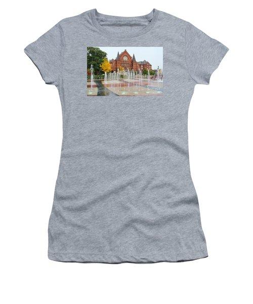 Cincinnati Music Hall 0001 Women's T-Shirt (Athletic Fit)