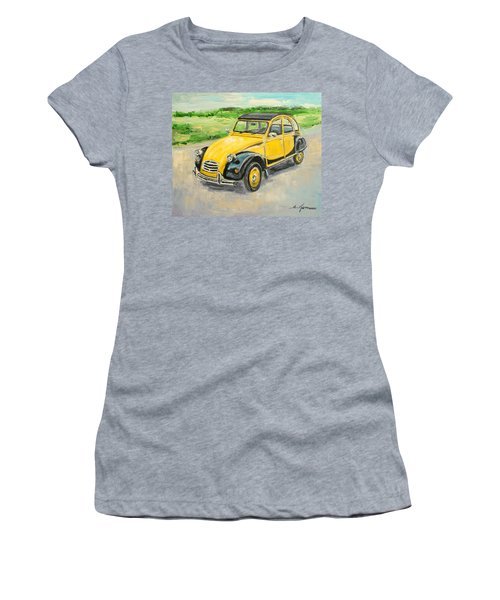 Citroen 2cv Women's T-Shirt (Athletic Fit)