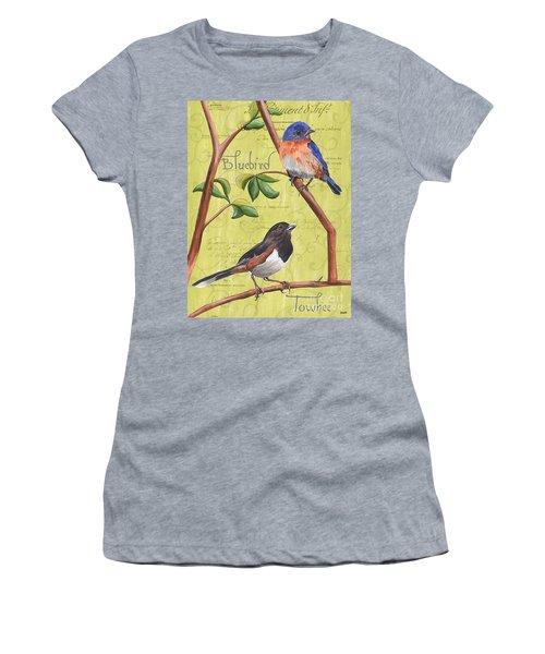 Citron Songbirds 1 Women's T-Shirt (Athletic Fit)