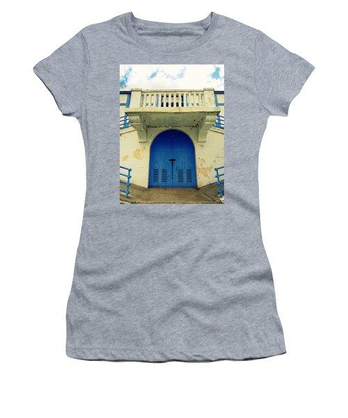 City Island Bath House Women's T-Shirt (Athletic Fit)