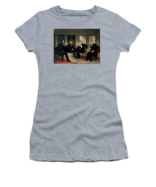 Civil War Union Leaders -- The Peacemakers Women's T-Shirt