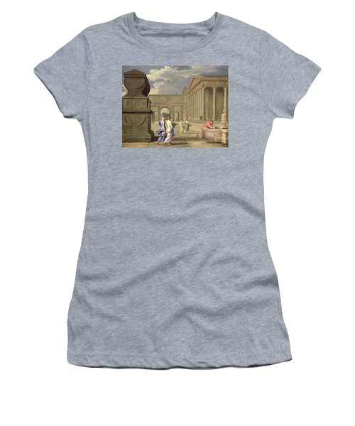 Classical Landscape Oil On Canvas Women's T-Shirt