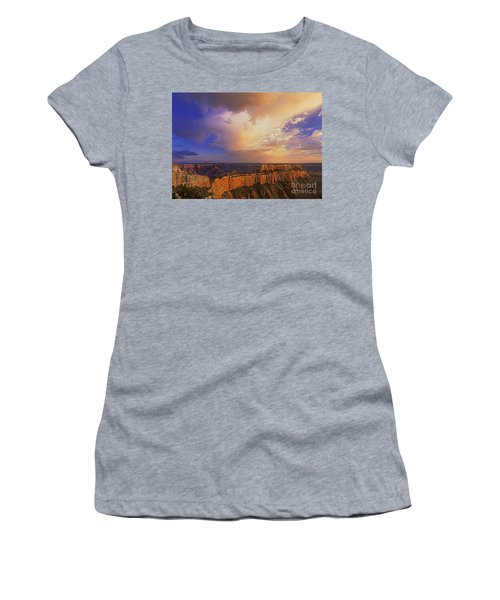 Clearing Storm Cape Royal North Rim Grand Canyon Np Arizona Women's T-Shirt (Athletic Fit)