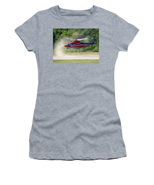 Close Landing  Women's T-Shirt (Athletic Fit)