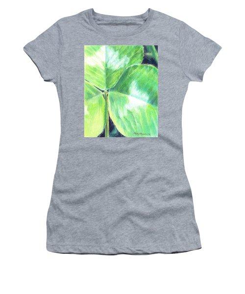 Clover Closeup Women's T-Shirt