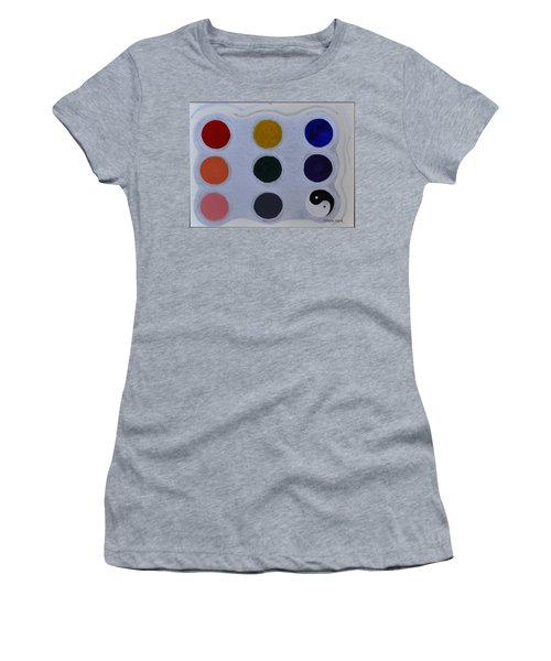 Color From The Series The Elements And Principles Of Art Women's T-Shirt (Athletic Fit)