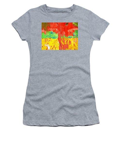 Color Splash  Women's T-Shirt (Athletic Fit)