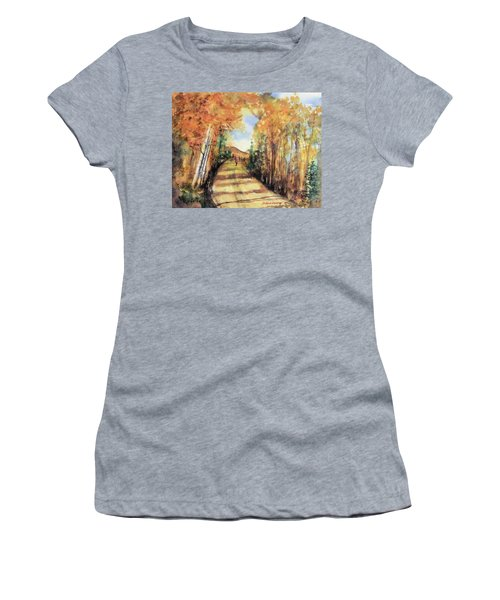 Colorado In September Women's T-Shirt (Athletic Fit)