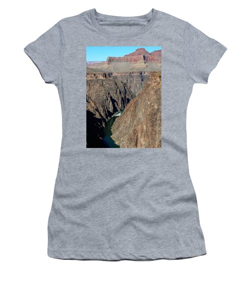 Colorado River From Plateau Point Women's T-Shirt (Athletic Fit)