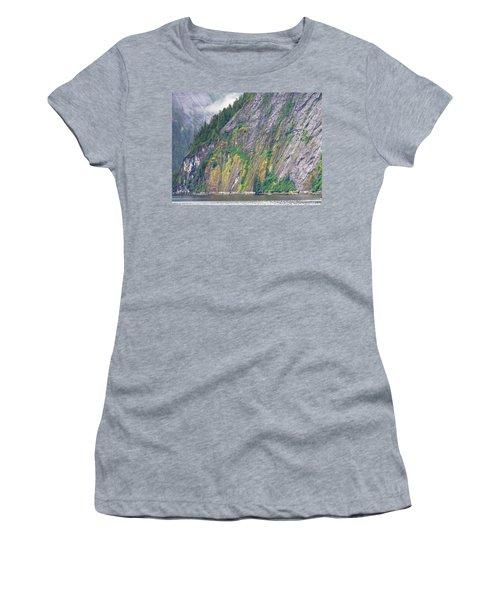 Colors Of Alaska - Misty Fjords Women's T-Shirt (Junior Cut)