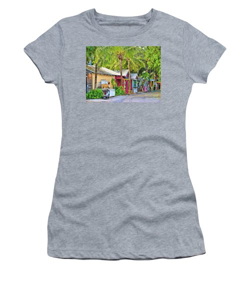 Lazy Way Lane Women's T-Shirt (Athletic Fit)